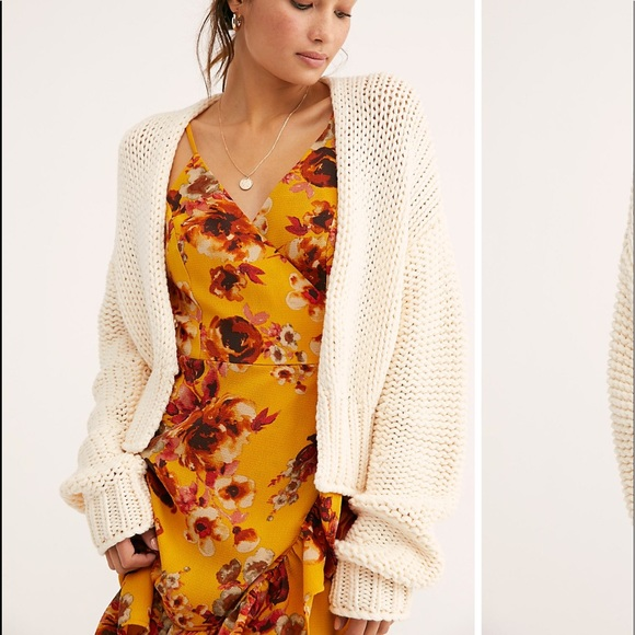 a1a8e5ee86 Free People Sweaters - Free people glow for it cardi